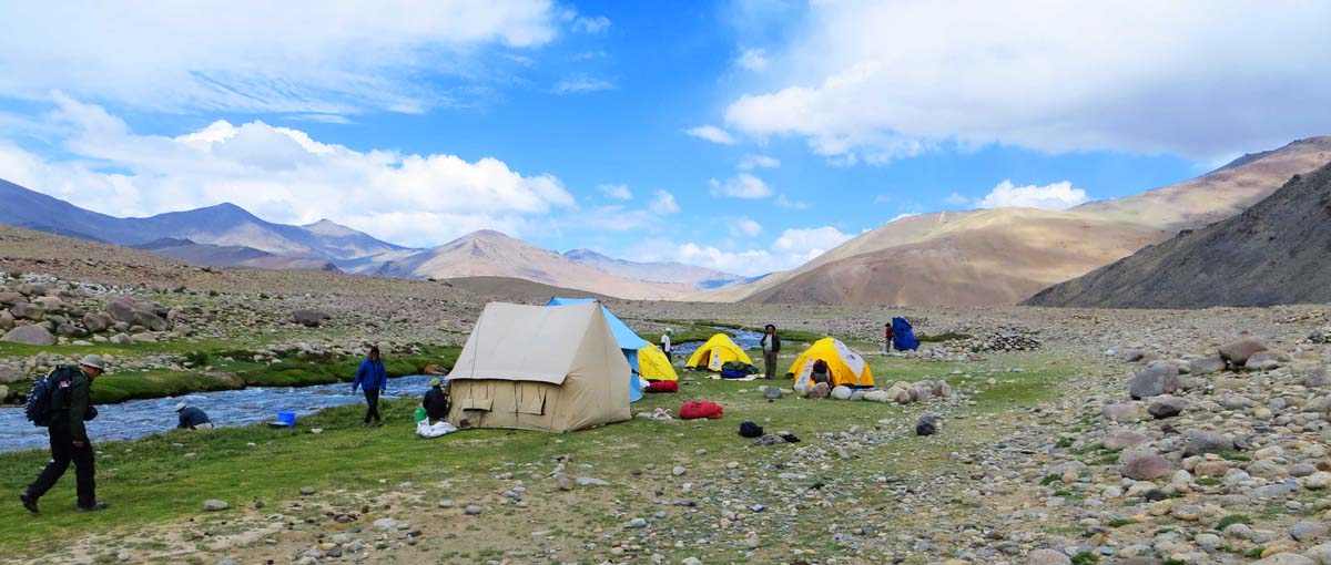 Camp at Zara Ladakh