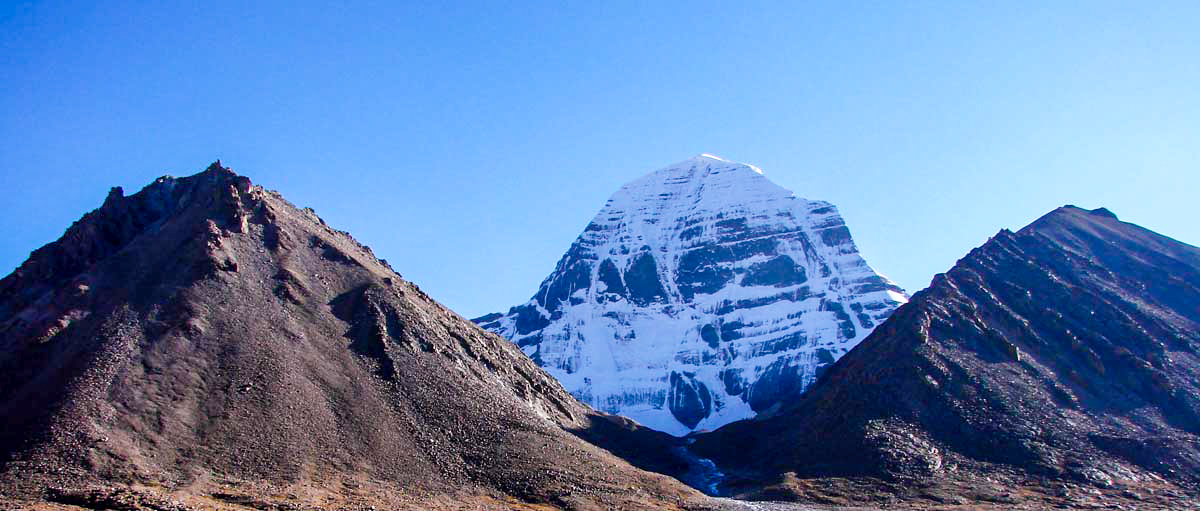 Kailash from Diraphuk Monastery